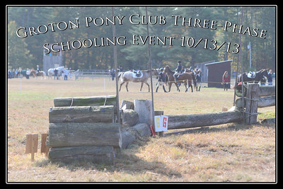 Groton Pony Club Three-Phase Schooling Event, October 13, 2013
