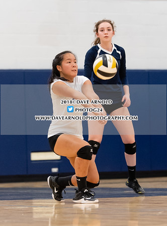 10/9/2018 - Girls Varsity Volleyball - Brookline vs Needham