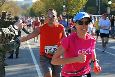 2008 Marine Corps Marathon in DC