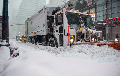 New York City - blizzard 2016
