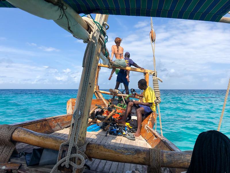 Zanzibar boat trip