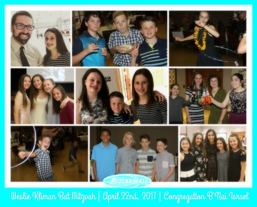 Weslie Kliman Bat Mitzvah | APRIL 22ND, 2017