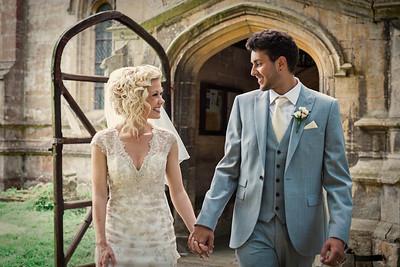 Sneaky Peek Emma and Stephen's  Vintage Wedding at Kelham Church and Kelham Hall