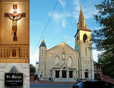 St Mary Catholic Church, Old Town Alexandria, VA