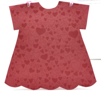 """Valentine"" Mini Dress Altered Albums"