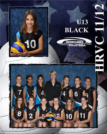 U13 Black Halton Hurricanes 2011/12