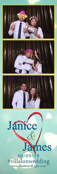 James + Janice Photo Booth