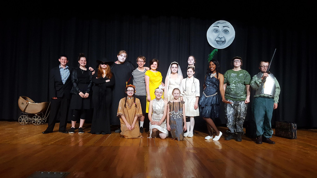 ". Submitted The Newbury Thespian Club presents ""The Addams Family: A New Musical Comedy\"" on May 5 and 6."