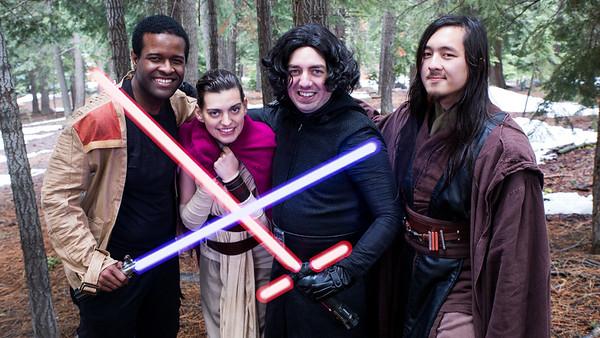 Star Wars Snow Shoot