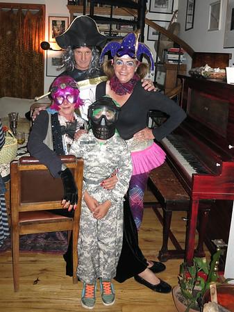 Halloween at Nancy Kelly's