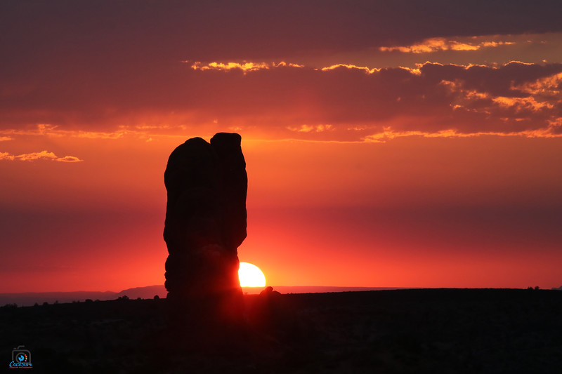 Balanced Rock Sunset, Arches National Park