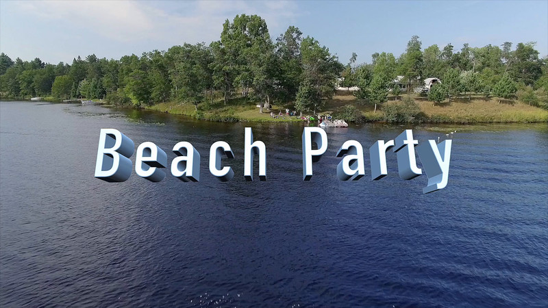 Cabin 2015 Beach Party