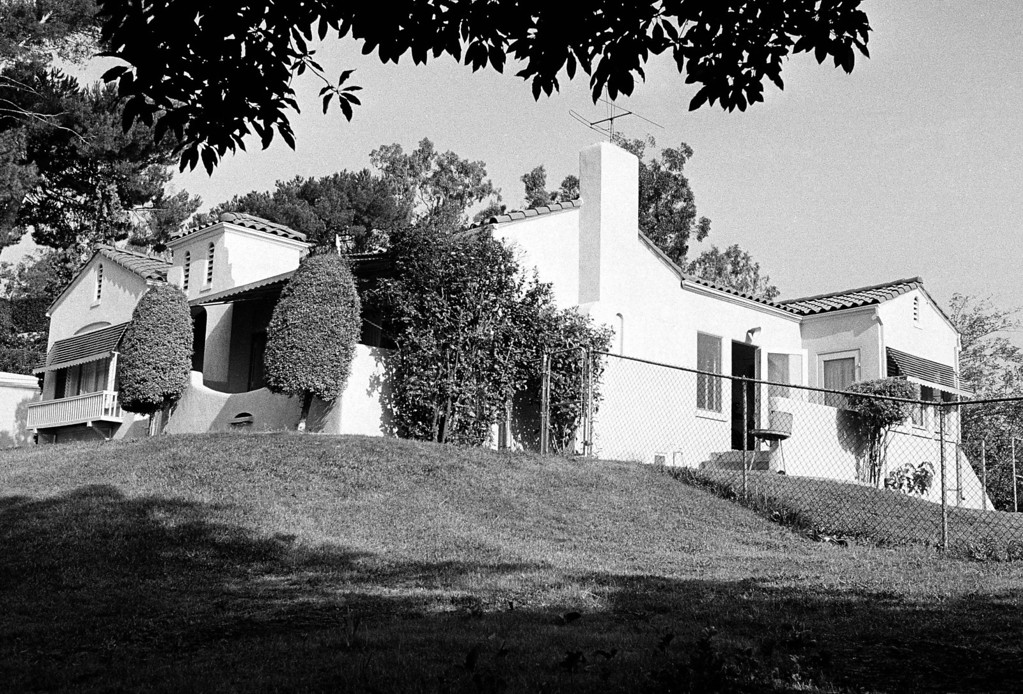 . The Hilltop home in Los Angeles\' Los Feliz district, about five miles northwest of the downtown section where Mr. and Mrs. Leno A. LaBianca were found murdered Aug. 10, is seen in Los Angeles August 11, 1969. Some aspects of the slayings were similar to those in the murders of actress Sharon Tate and four others in the city\'s Bel-Air district 10 miles to the west. (AP Photo)