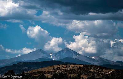 Portraits of Long's Peak