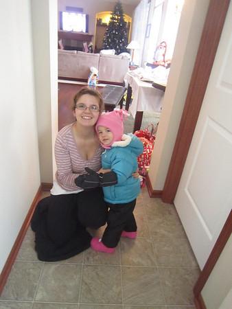 2012 Dec Maddie & Dannie