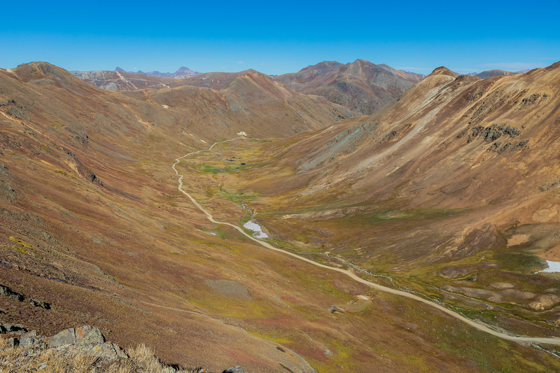 Hurricane Pass and Alpine Loop scenery (near Ouray)