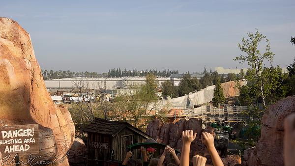 Disneyland Resort Disneyland, Frontierland, Star Wars Land, Star Wars, Trail, Jamboree, Construction,