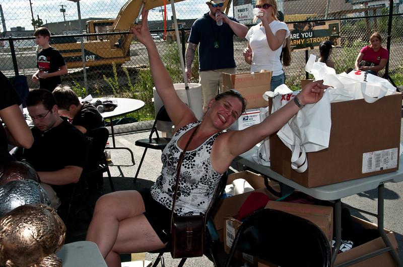 Erica Linden, the Fabulous Raffle Ticket Seller