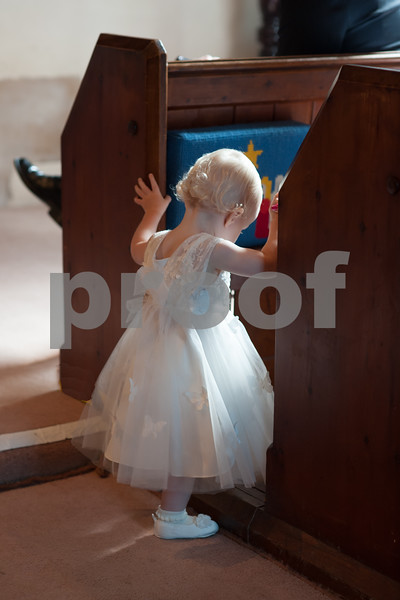 Amelie's christening