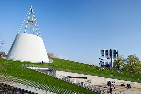 TU Delft. studentenhuisvesting.Architect: Daan Font Freide, RoosRos architecten.