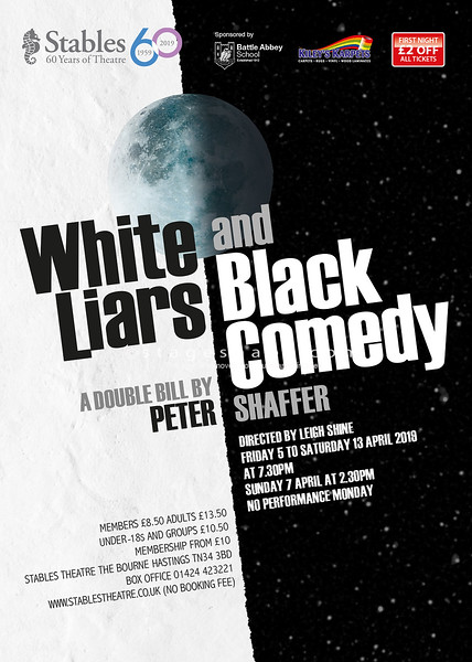 WHITE LIARS & BLACK COMEDY (April)