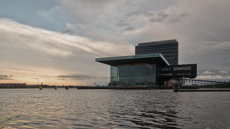 Muziekgebouw Amsterdam.