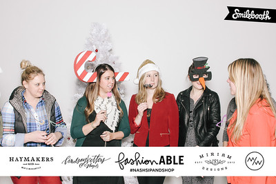 fashionable holiday sip and shop