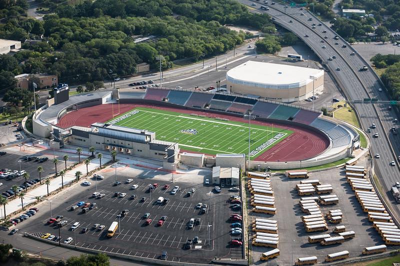 09/23/2014 092558 -- San Antonio, TX -- © Copyright 2014 Mark C. Greenberg  Alamo Stadium