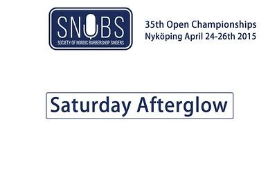 2015-0425 SNOBS -Saturday's Party