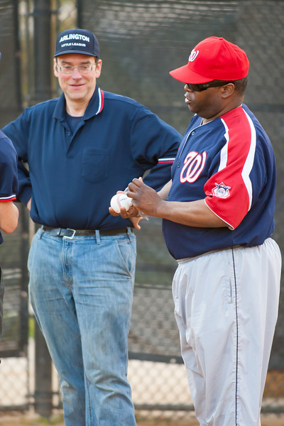 2012 Arlington Little League Baseball, Majors Division. Nationals vs Twins (19 Apr 2012) (Image taken by Patrick R. Kane on 19 Apr 2012 with Canon EOS-1D Mark III at ISO 1600, f2.8, 1/500 sec and 300mm)