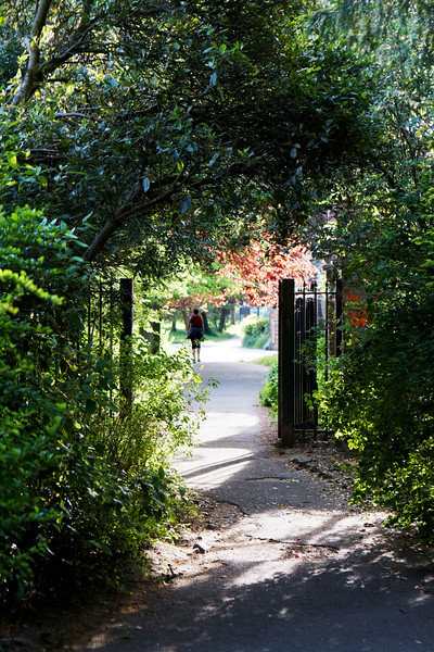 John Innes Park - Footpath