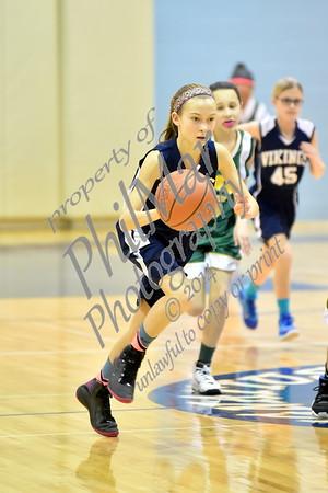 St. Ignatius vs HGA Girls 5th Grade Basketball 2014 - 2015