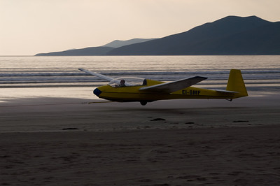 Gliders on the Beach, September, 2008
