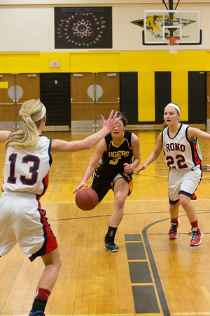 Hutch Girls BB vs Orono