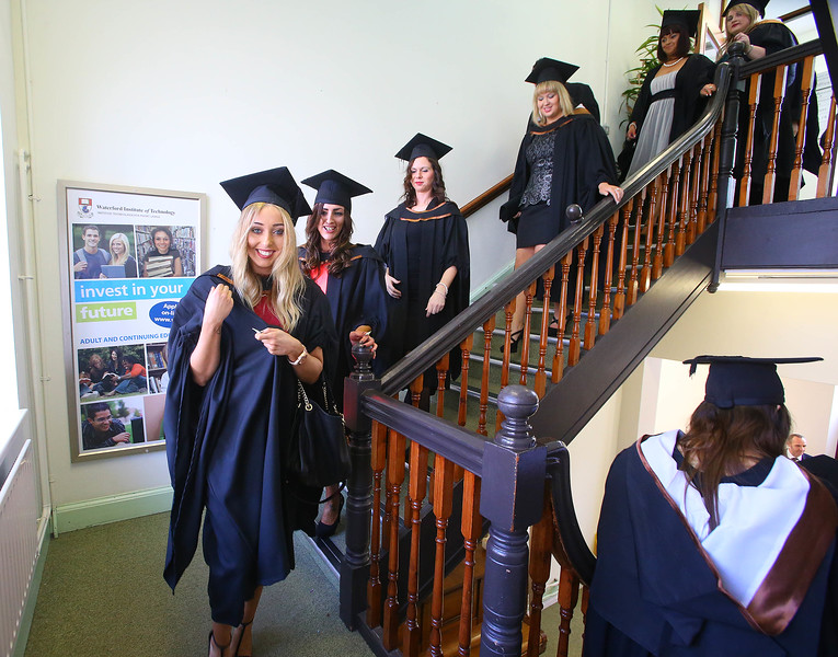 Waterford Institute Of Technology Conferring. Pictured at WIT Waterford Institute Of Technology Conferring isSadhbh Carron, Dublin who graduated Bachelor of Arts (Honours) Social Care. Picture: Patrick Browne