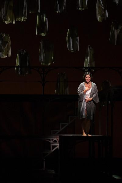"Vanessa Isiguen as Roberta Alden in The Glimmerglass Festival's new production of Tobias Picker's ""An American Tragedy."" Photo: Jessica Kray/The Glimmerglass Festival."
