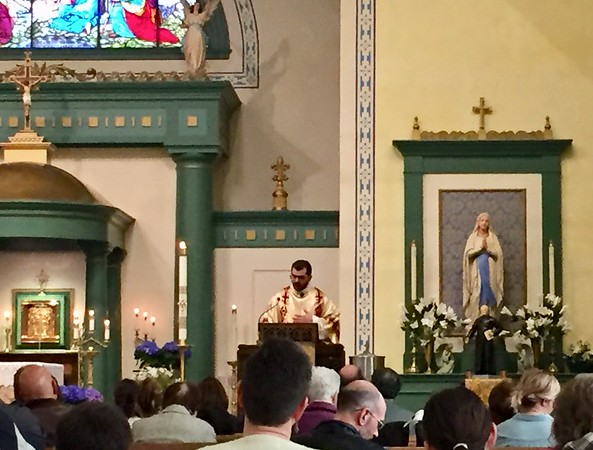 2018.04.22 Deacon Marcos at St. Andrew