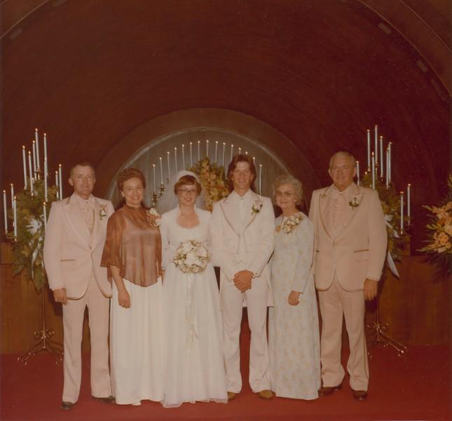 Jeff and Karen's wedding