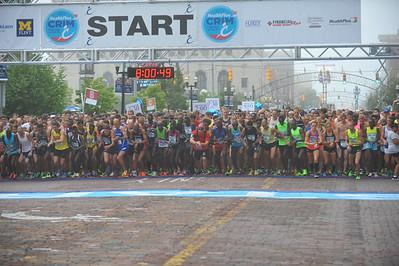 10 Mile Start - 2014 HealthPlus Crim Festival of Races