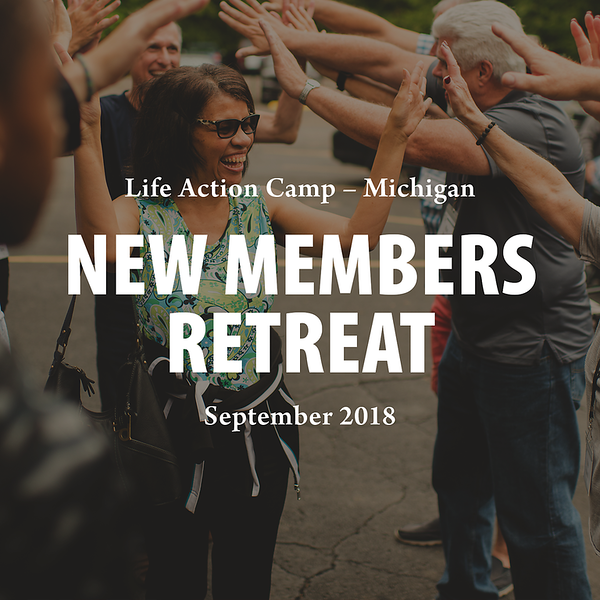 New Members Retreat 2018