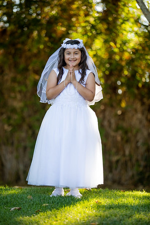 Andy Daughter first communion
