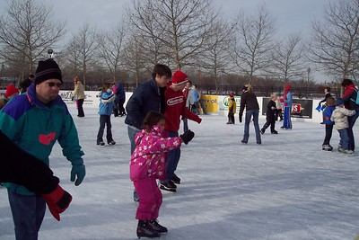 Lars and Clint Ice Skate - Winter 2004/5