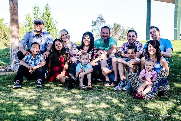 Amy's Family shoot