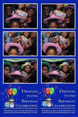 Denni's 70th Birthday Party    4/22/18