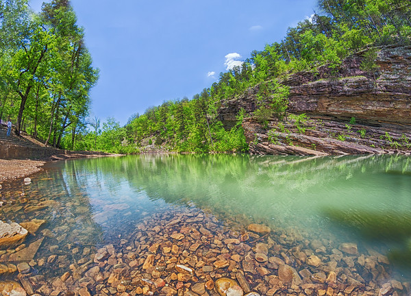 at Jack Creek, near Booneville, Arkansas, USA