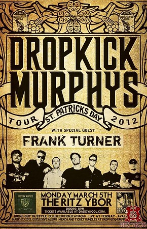 "Frank Turner & Dropkick Murphys ""St. Patrick's Day Tour"" March 5, 2012"