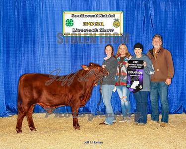 2021 Southwest District Livestock Show