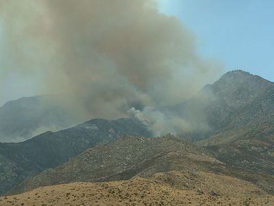 Verbenia Fire, 12 Jul 2004
