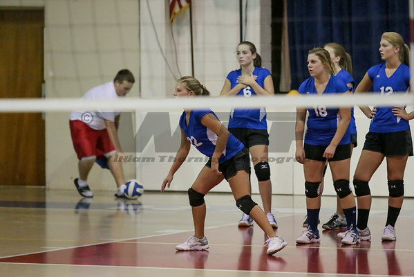 HHA vs OP Volleyball 8-20-14