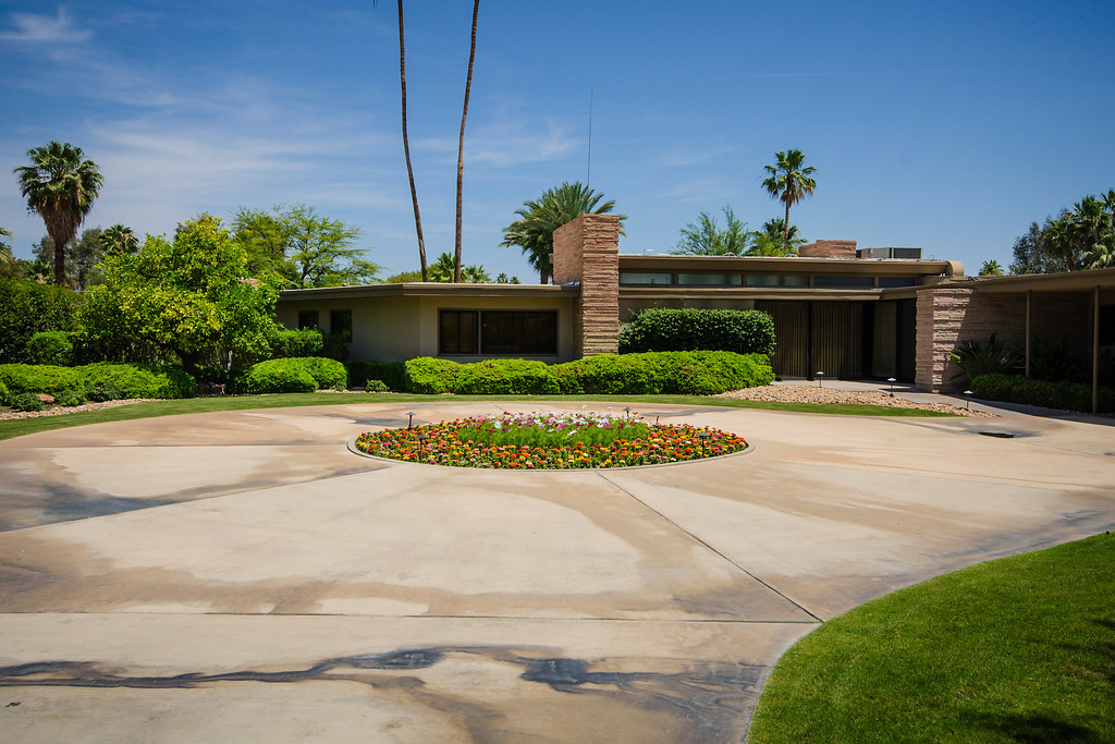 Former home of Frank Sinatra, Palm Springs